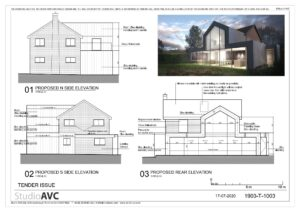 Architectural drawings for planning permissions.Plans, sections, elevartions.
