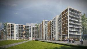 Residential, new builds flats block