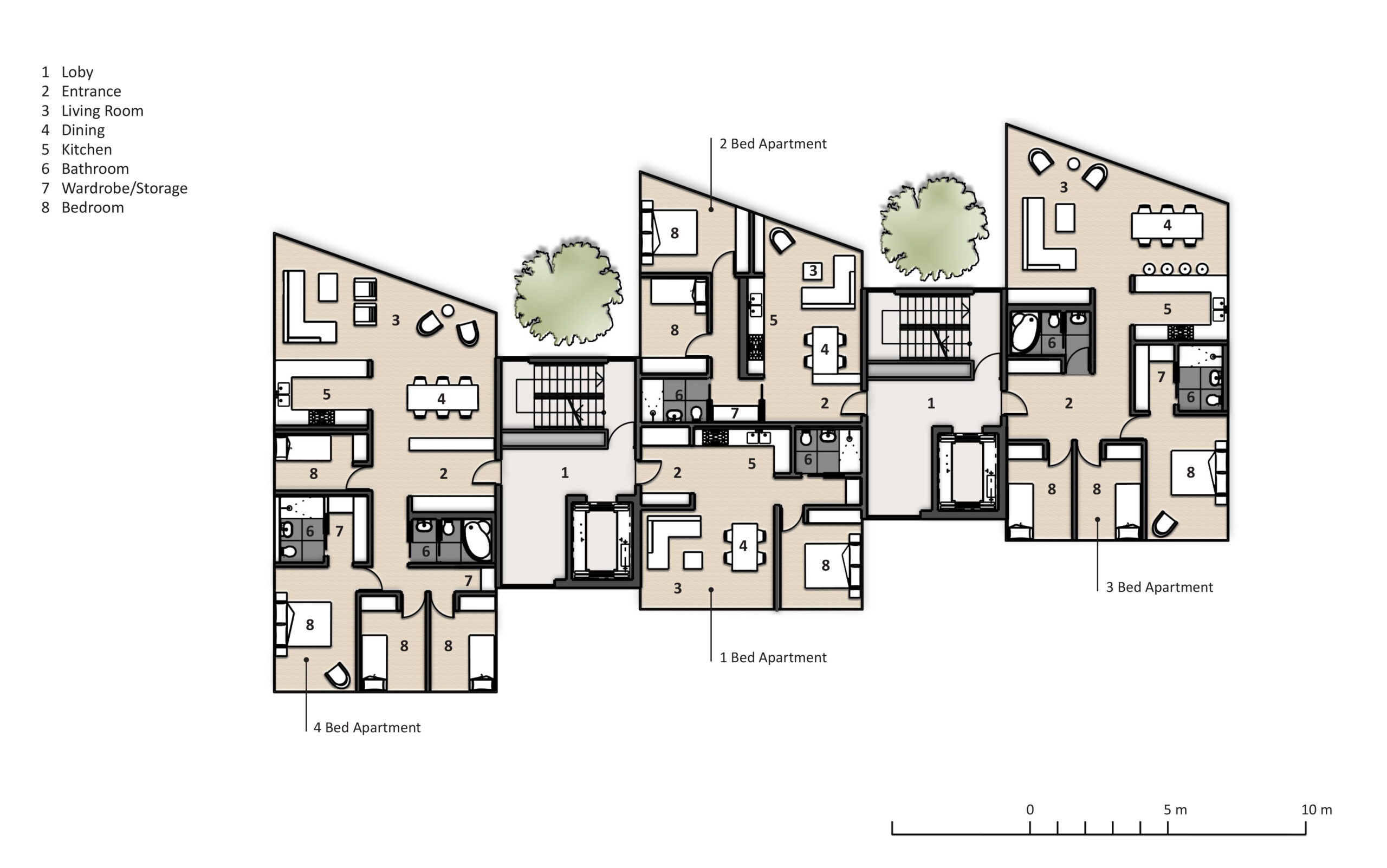 Affordable Housing New build flats
